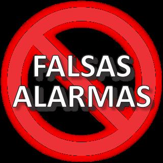 FALSAS ALARMAS