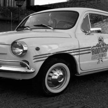 Primer auto Rodych Seguridad