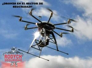 DRON seguridad