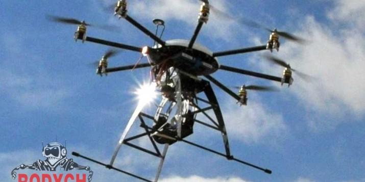 Dron para seguridad Rodych