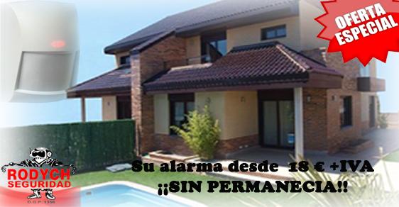 Oferta instalación de sistema de alarma para el hogar Rodych