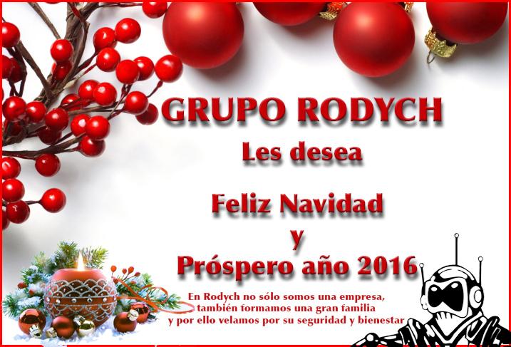 Felicitación navideña Grupo Rodych