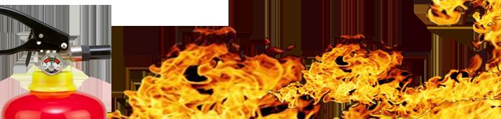 Extintores de incendios prevención con Rodych Seguridad