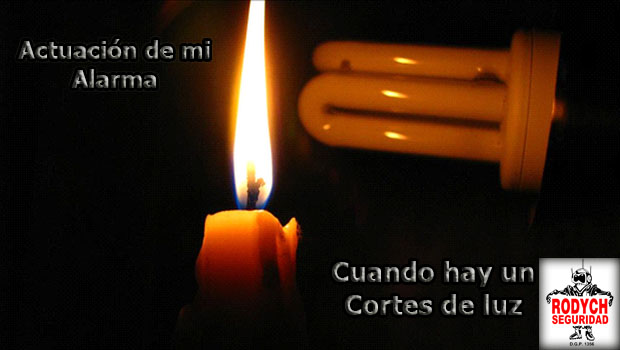 CORTES DE LUZ. COMO AFECTAN A MI SISTEMA DE SEGURIDAD