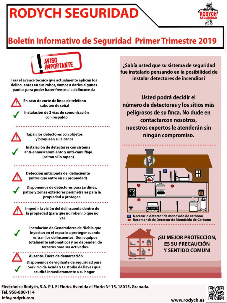 BOLETIN INFORMATIVO DE SEGURIDAD