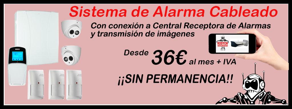 Promoción Sistema de Alarma con Transmisión de Imágenes desde 36€ al mes
